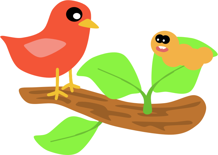 Bird Scene  by Scout - A Bird Scene