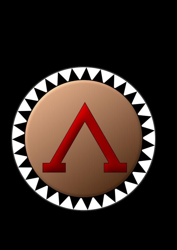 Clipart - Spartan Shield