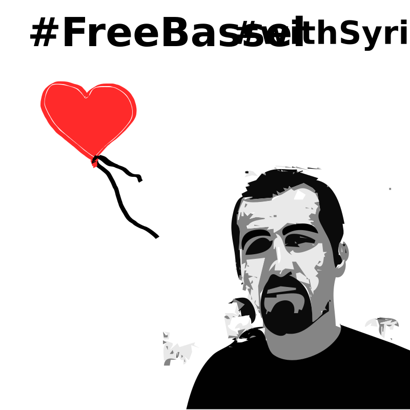 Freebassel day with syria  by jykhui - #Freebassel #withsyria