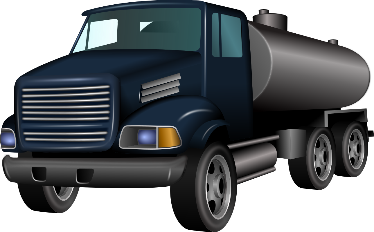 Cistern Truck by ivak - A drawing of a cistern truck.