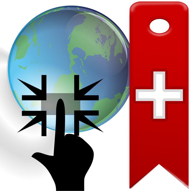 Location Bookmark by ColletonGIS - Bookmarked or saved locations icon for maps