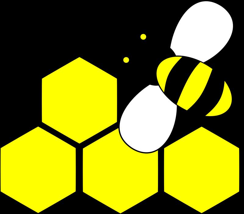 Clipart - Abeille-Bee-Ruche