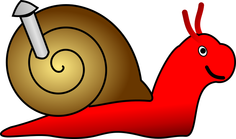 Snail by frankes - A snail from a set of images for an animation.