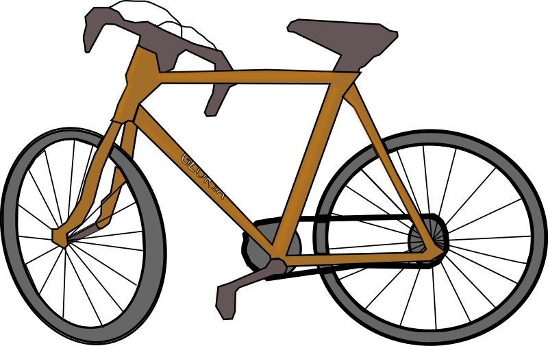Italian Bicycle by j4p4n - I'm not the best freehand artist out there, so if someone else wants to tackle this one feel free. I just thought I would provide something freehand based on the image that was provided to help provide some clipart. (This took way too long to make!) Cheers