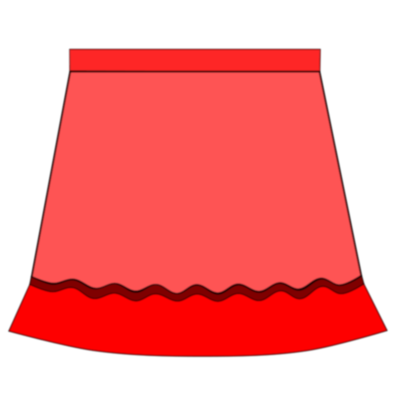 Skirt by alanspeak - A skirt for EFL/ESL students!