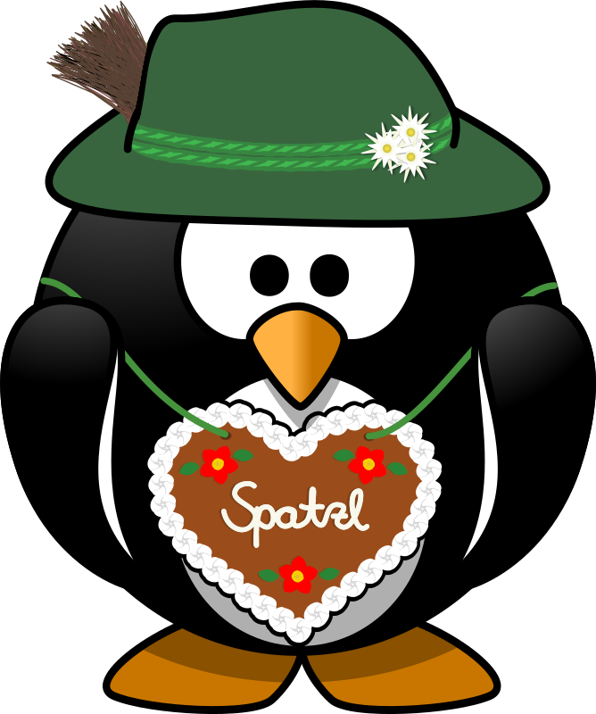 Penguin from the Alps by Moini - Did you know that penguins lately invaded the Alps? See for yourself!