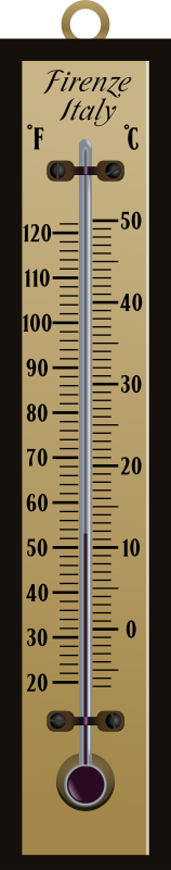 Thermometer by conte magnus