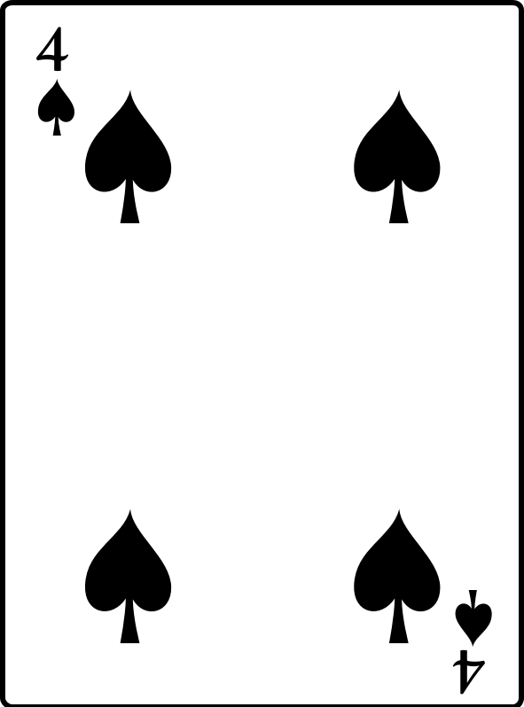 4 of Spades by casino - 4 of Spades