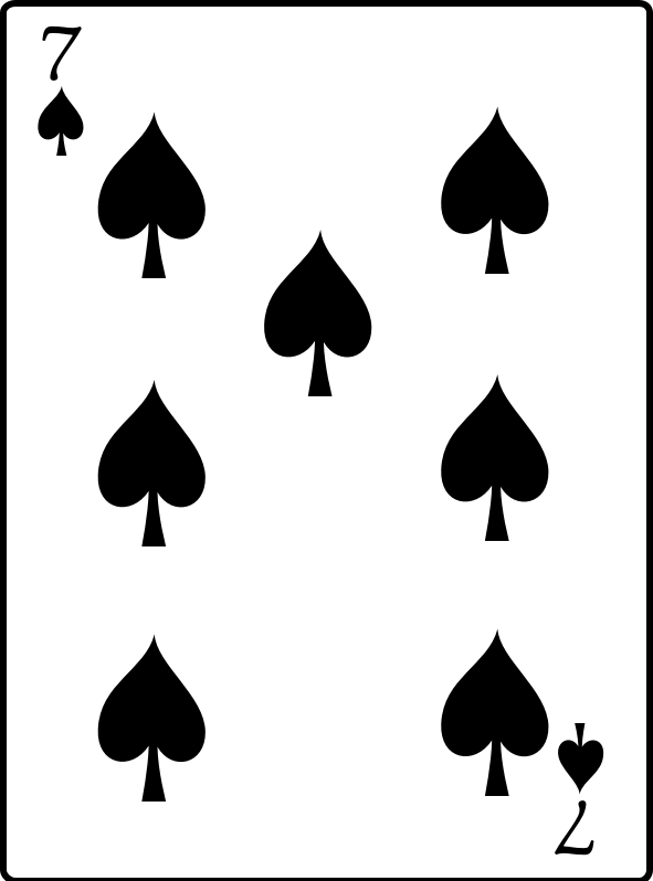 free spades card