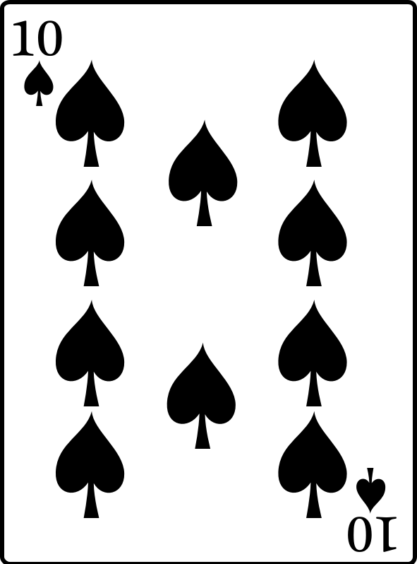 10 of Spades by casino - 10 of Spades