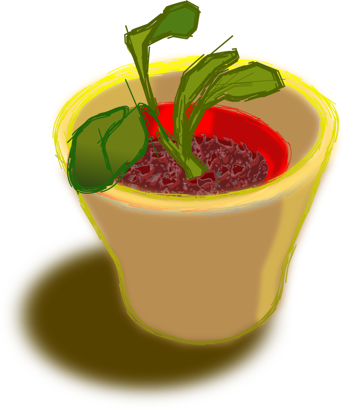 Plant In Two Pots by gubrww2