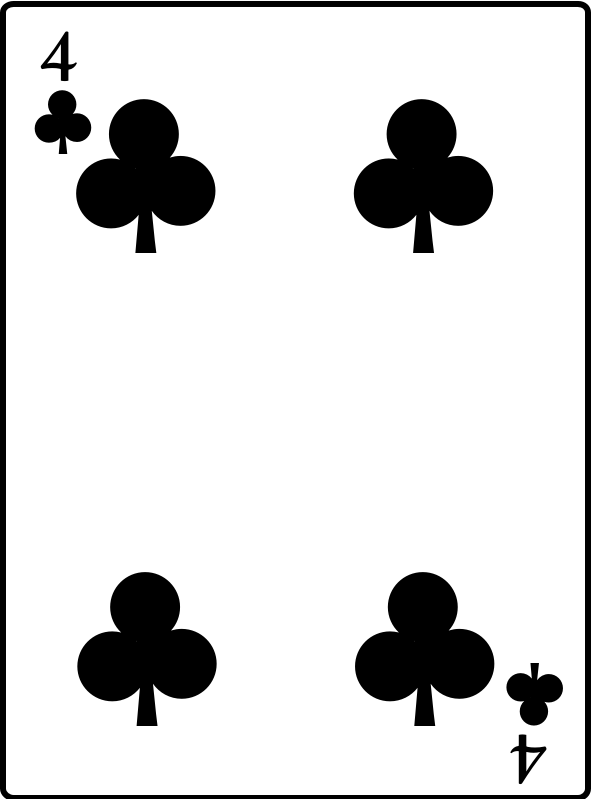 4 of Clubs by casino - 4 of Clubs