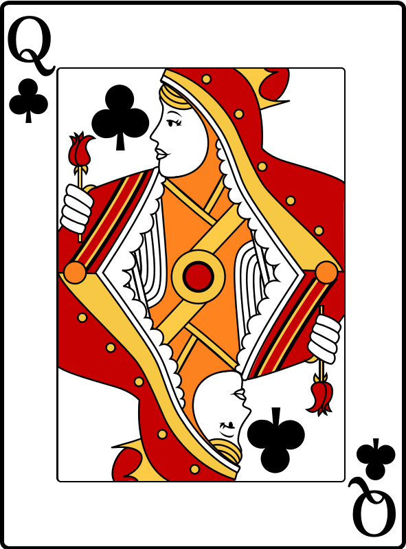Queen of Clubs by casino
