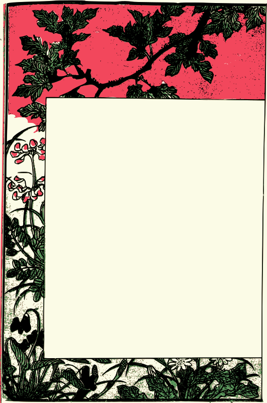 Ancient japanese book frame by j4p4n i know this is kind of a