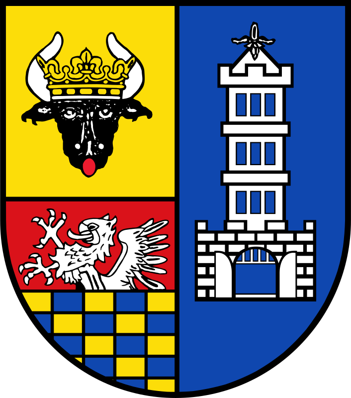 Demmin Coat of Arms by Magirly - From http://commons.wikimedia.org/wiki/File:Wappen_des_Landkreises_Demmin.svg