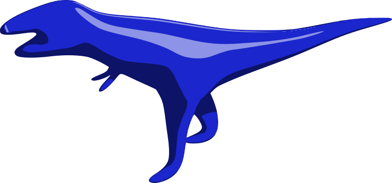 Tyrannosaurus by mazeo - A theropod dinosaur. Derived from http://www.blendswap.com/blends/view/67401