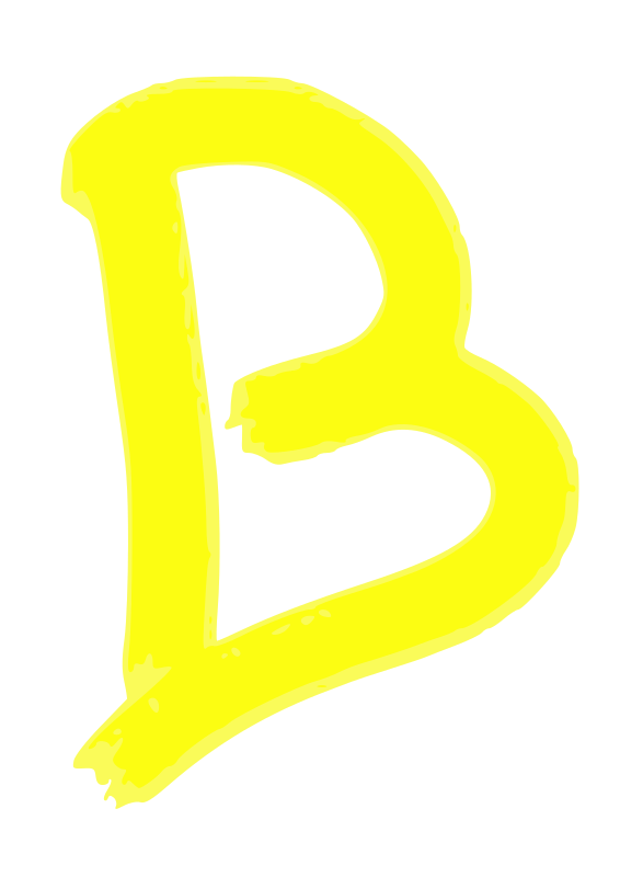 B by moreno.martin - Letter B