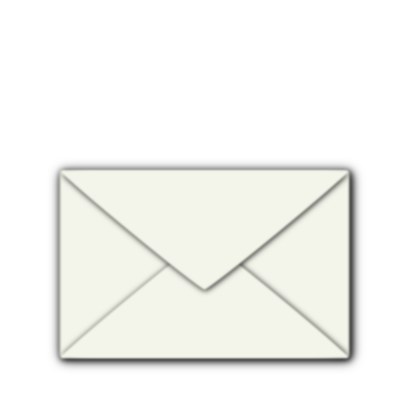Closed Envelope by LlubNek - A closed envelope.  Made in Inkscape. 24x24, but scales nicely.