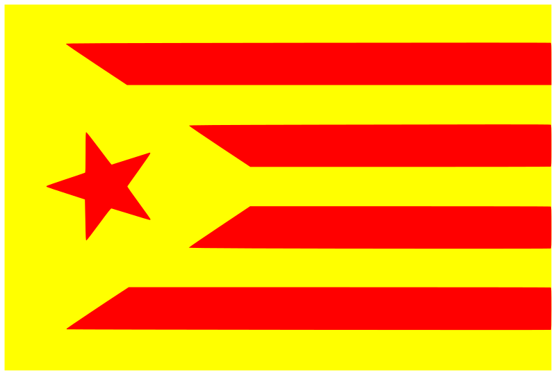estelada by fofo - Flag of Catalonia