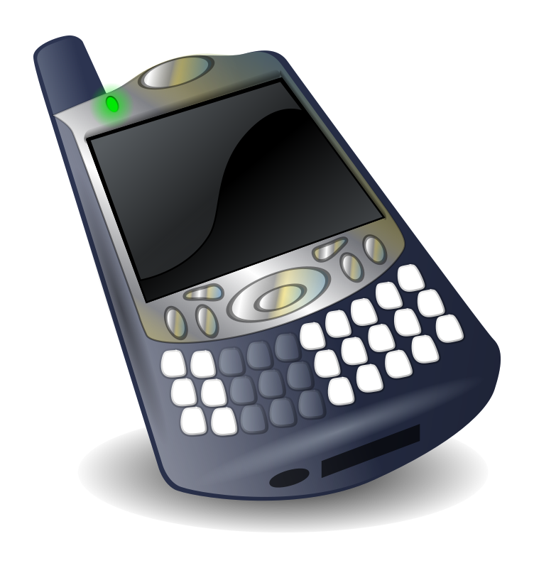 treo 650 smartphone by brucewestfall - A rendering of my 'little brain'.  The Treo 650 is a combination palm pilot and cellphone.  Commonly called a smartphone.