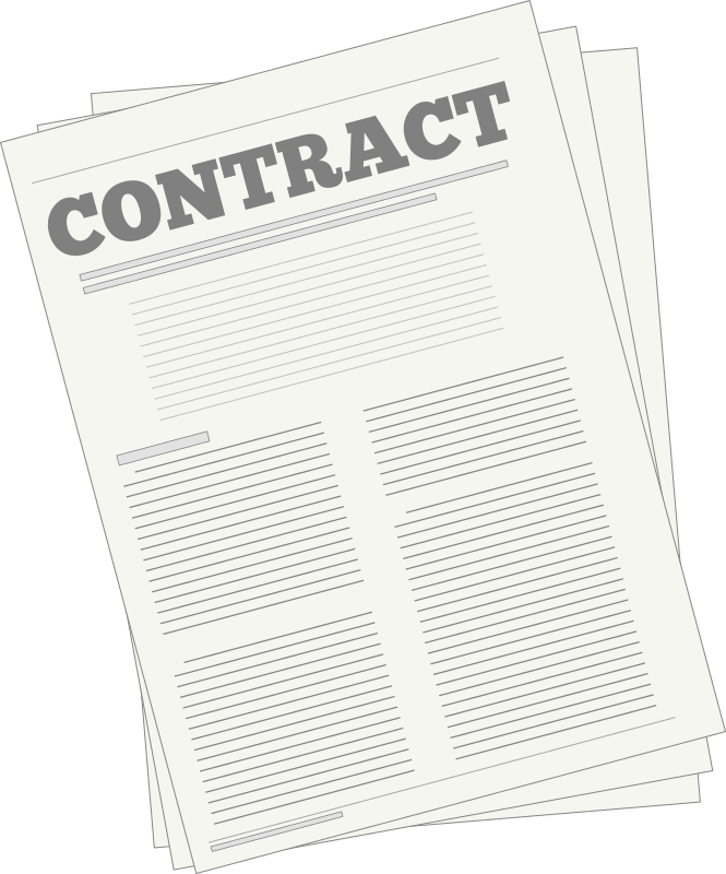 Contract by Alastair - A legal contract.