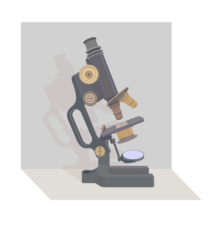 Microscope Vintage by barrettward