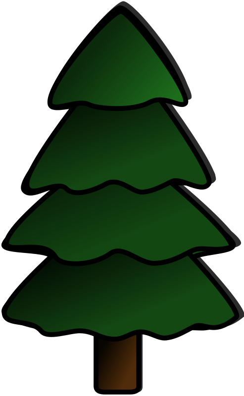 Tree by harmonic - An undecorated Christmas tree for your decorating pleasure