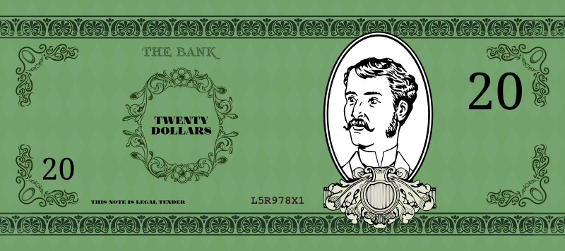 Victorian Banknote by Alastair
