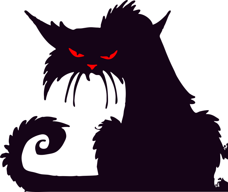 Grumpy cat by liftarn - A very pissed off cat.