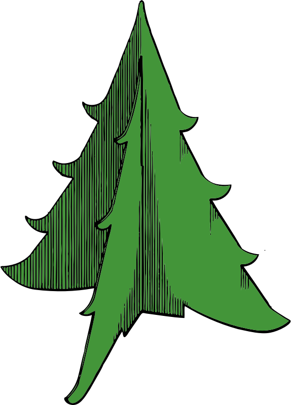 Christmas Tree by johnny_automatic - a simple Christmas tree from a U.S. patent drawing
