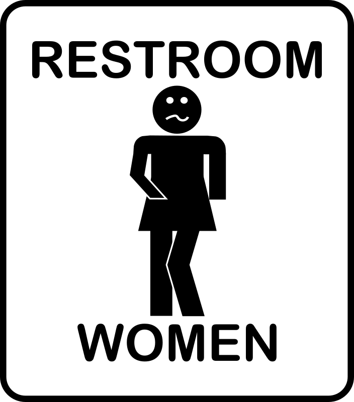 Womens Room by Arvin61r58 - Humorous Restroom Sign
