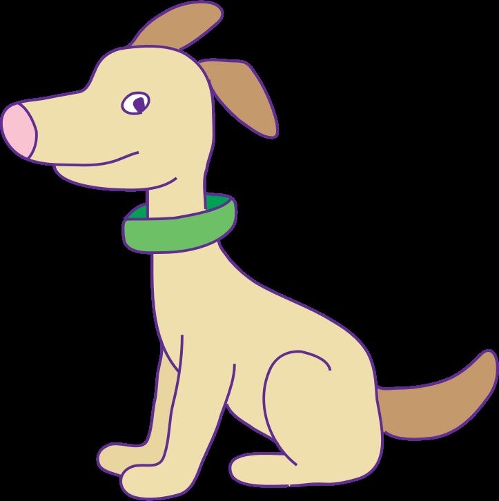 Clipart - dog كلب