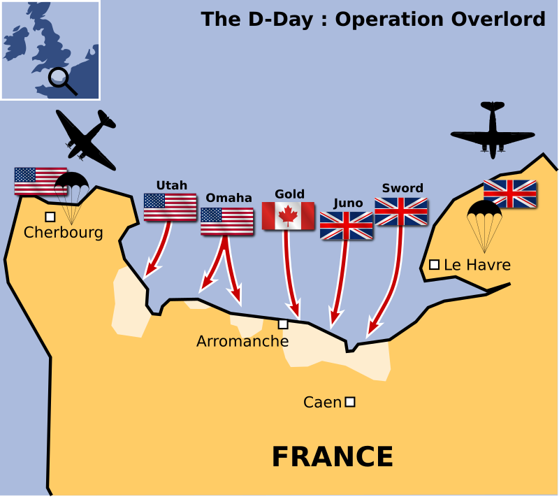 The D-Day by cyberscooty