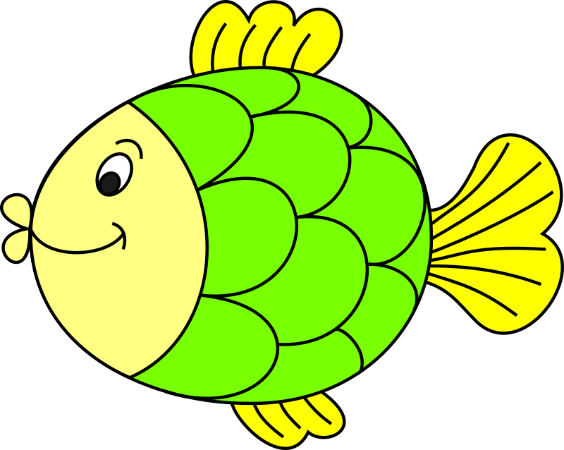Fish_coloured by katjo - A coloured fish.