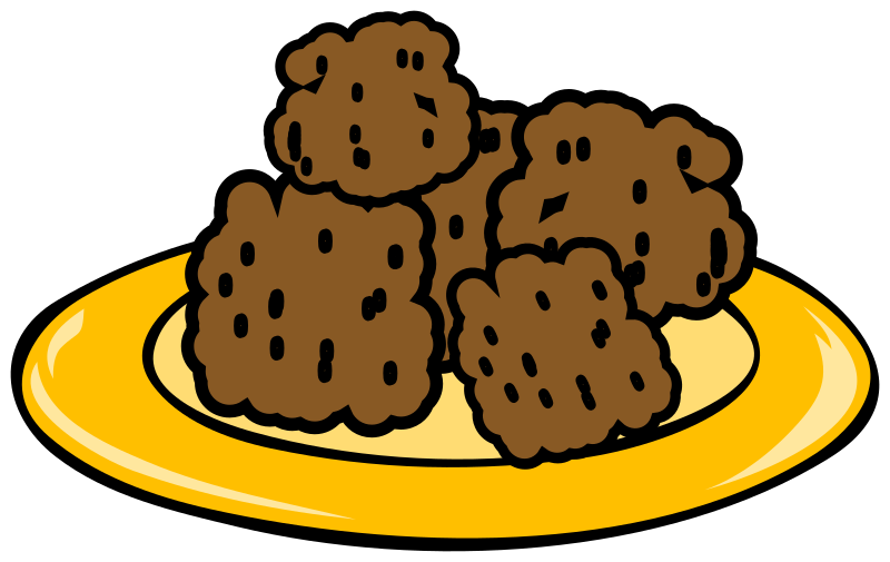 clipart meatballs plate of cookies clipart black and white plate of christmas cookies clipart