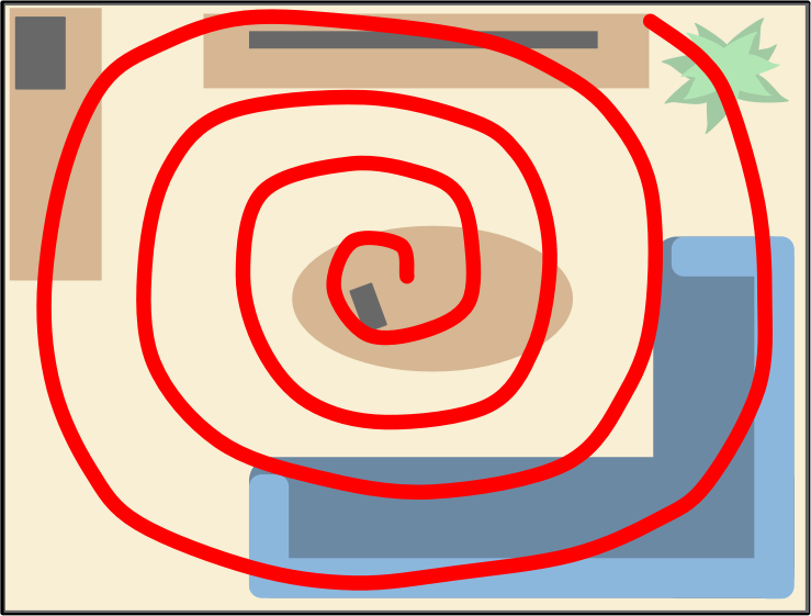 Spiral Search Pattern by Scout