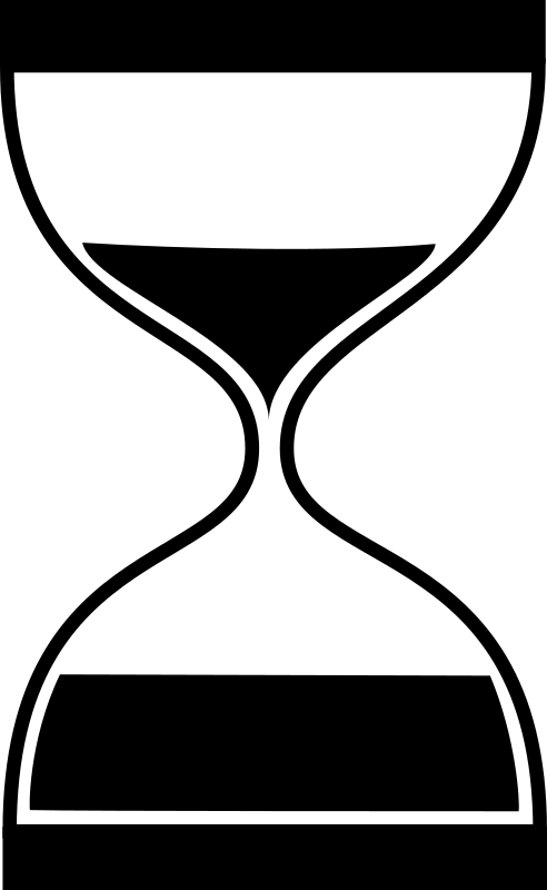 Sandglas Flat by joky - Derivate of Hourglass icon by Frédéric Moser.