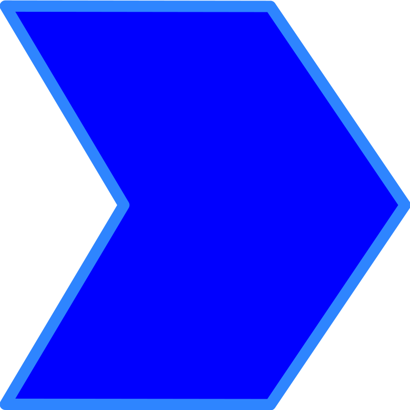 Process in blue by aztlek - I made this icon to mission processes of an organization, to be used in TOGAF Modelio.