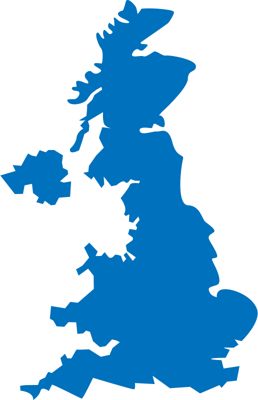 United Kingdom map by shokunin - I think it is not full map, some bit of islands are missing, not very deatiled
