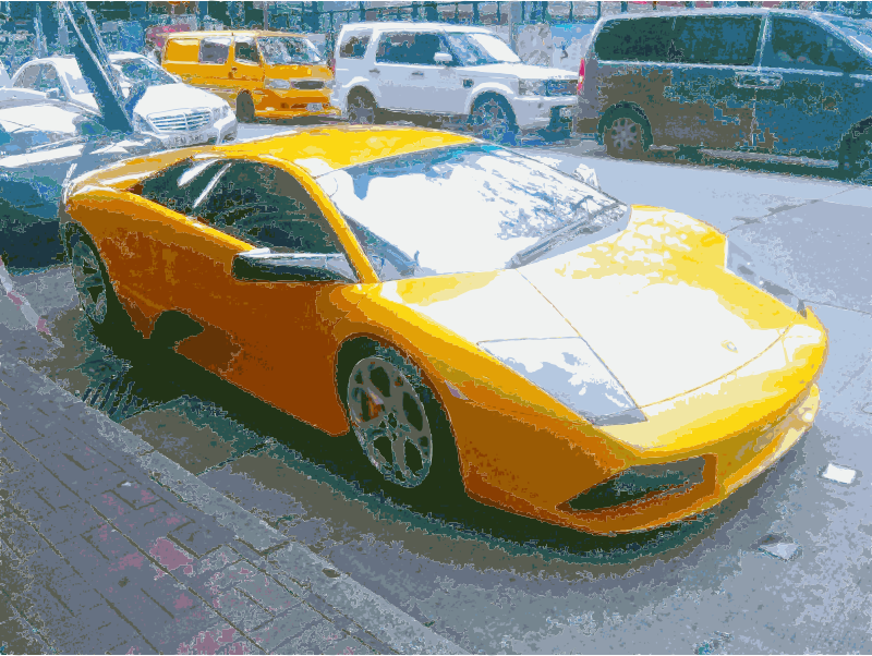 Sports Car Needs Cutout from Scene by wanglizhong
