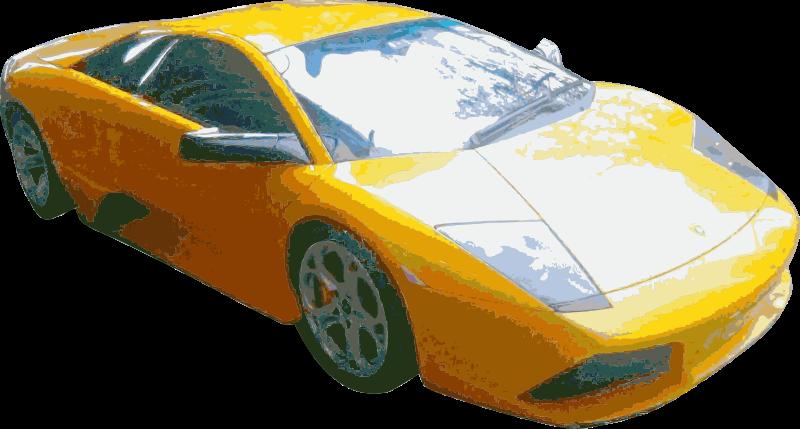 Clipart Sports Car Cutout