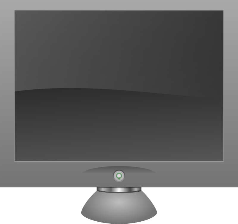 LCD monitor by gigatwo - Just something I did for a fake icon set. Expect the other files soon.