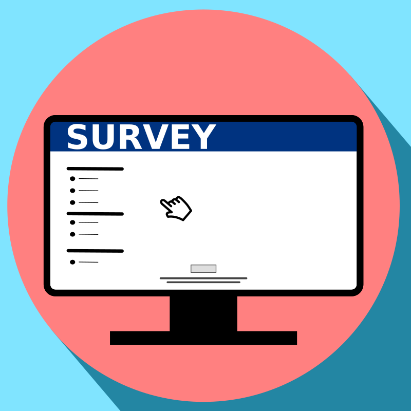 Online survey icon by Dustwin