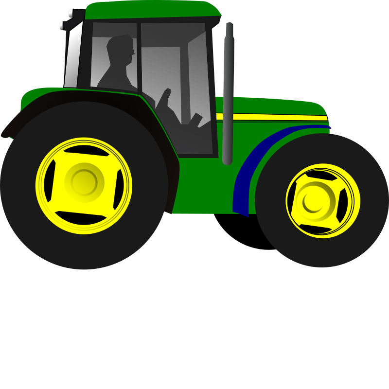 Little Green Tractor by yman - Little green tractor...nuf said.