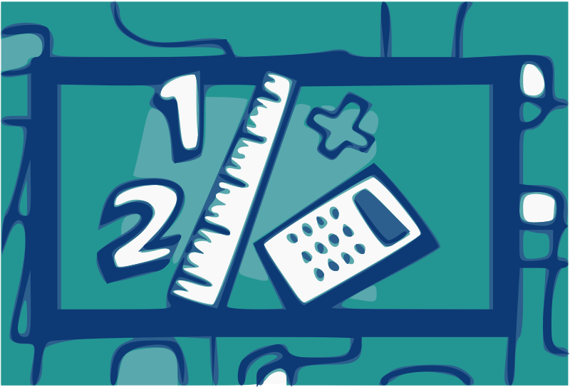 Math Icon by j4p4n - more keywords/comments soon!! (This was an official US Government  produced image officially released by the institution as part of their kid's outreach program, so it is public domain.)