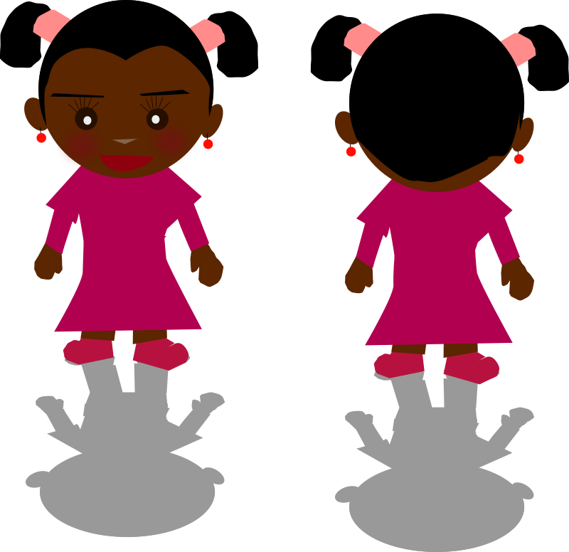 Black Girl - PNG by Ricardo