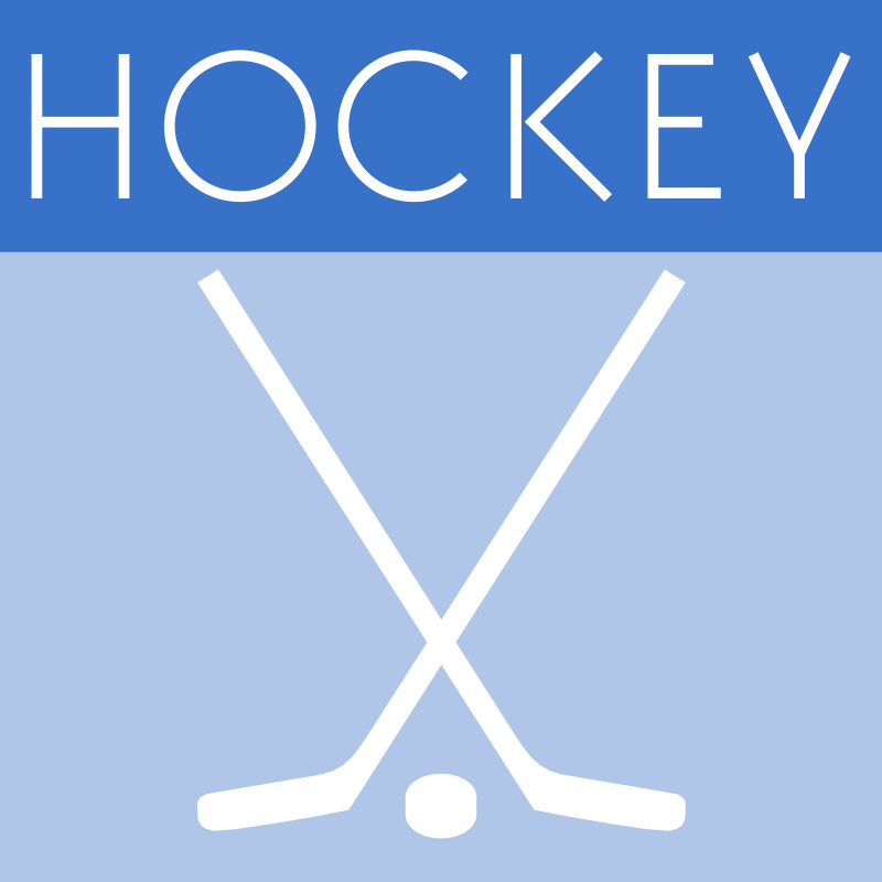 Clipart - Hockey Icon