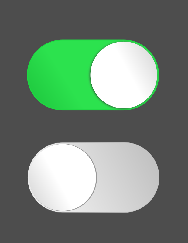 ON and OFF by cyberscooty - I created this buttons for my ...