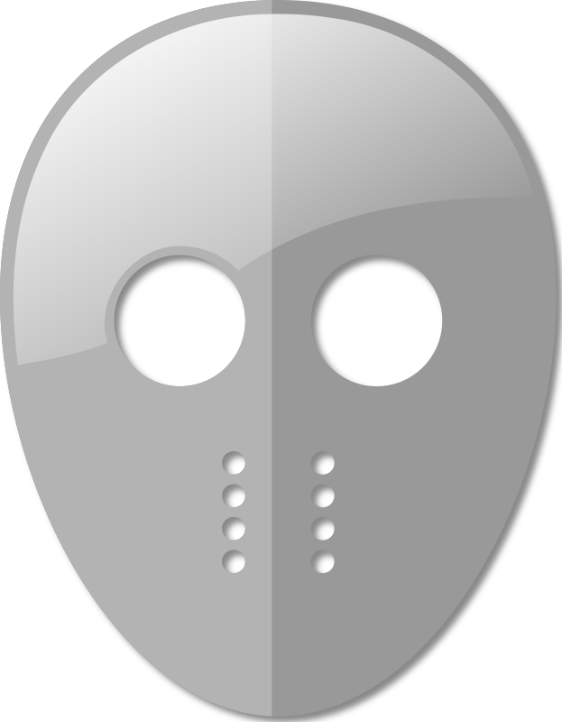 Hockey Mask by davmac - A simple hockey mask