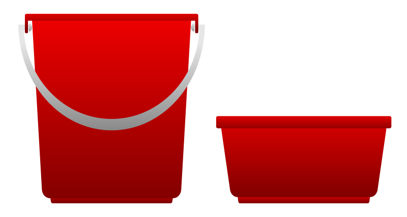 Pail And Basin by Viscious-Speed - Pail And Basin